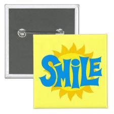 Smile Pinback Button