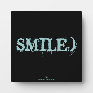 SMILE :) Plaque