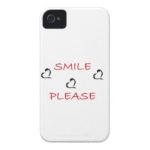 smile please Case-Mate iPhone 4 case