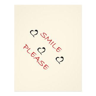 Smile Please Letterhead