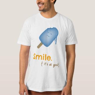Smile Popsicle / Ice Cream Tee (light)