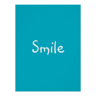 'Smile' Poster