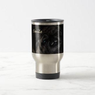 Smile Pug Dog Mug