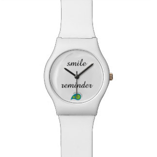 Smile reminder watches
