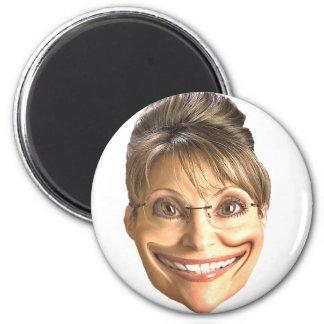 Smile Sarah 2 Inch Round Magnet