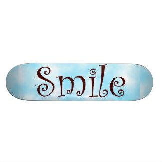 Smile-skateboard