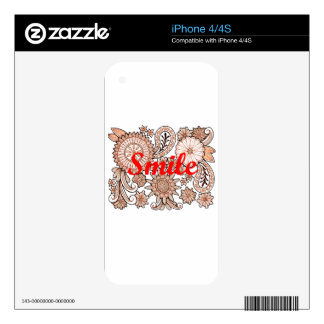 Smile Skins For iPhone 4S