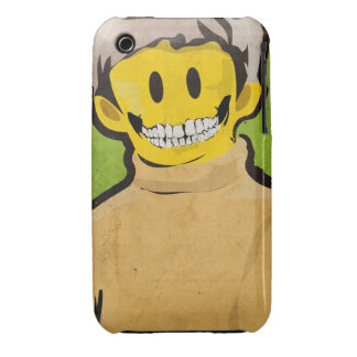 Smile Skull iPhone 3g case
