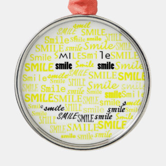 Smile Smiley Face Ornament