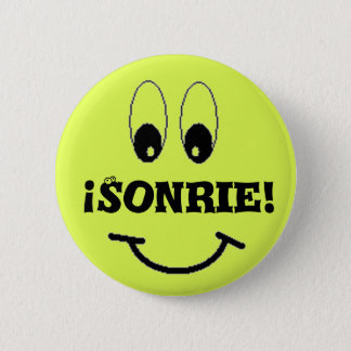smile, Sonrie! Button