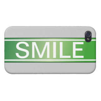 """""""Smile"""" Speck Case Case For iPhone 4"""