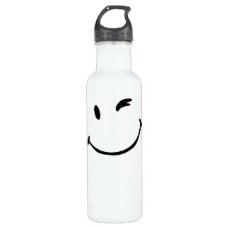- Smile Stainless Steel Water Bottle