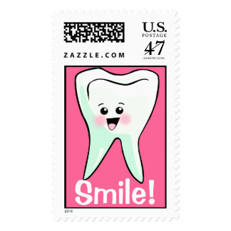 Smile Teeth Dentistry Postage