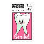 Smile Teeth Dentistry Stamp