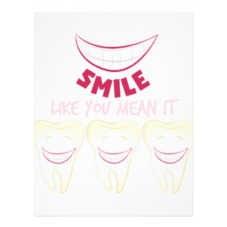 Smile Teeth Letterhead