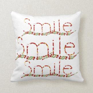 Smile Texts pillow