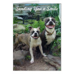 Smile Thinking of you Miss you Card