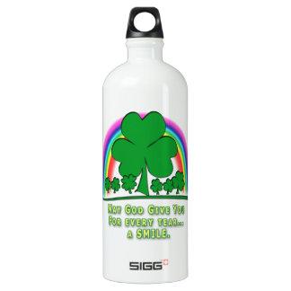 SMILE to REPLACE TEARS - IRISH BLESSING SIGG Traveler 1.0L Water Bottle