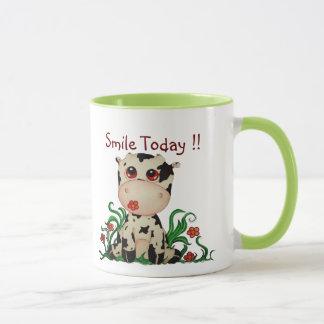 Smile Today Baby Cow Customizable Coffee Mug