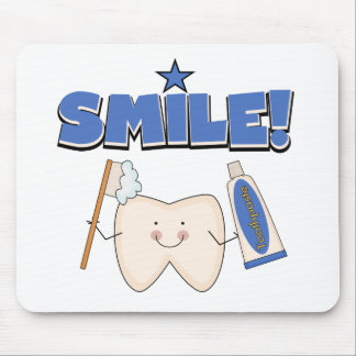 SMILE - Tooth T-shirts and Gifts Mouse Pad