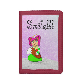 Smile!!! Trifold Wallet