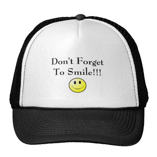 Smile Trucker Hats