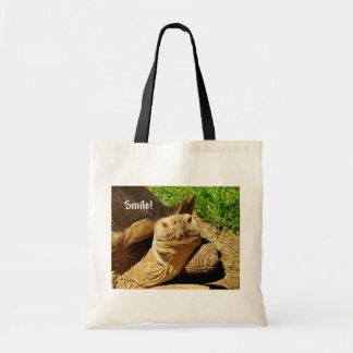 """Smile"" Turtle Tote Bag"