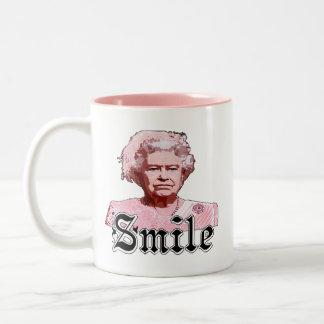 Smile Two-Tone Coffee Mug