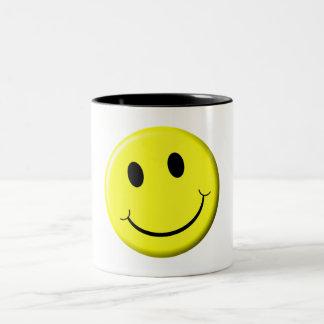 Smile! Two-Tone Coffee Mug