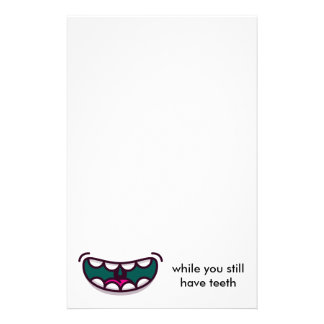 Smile up stationery