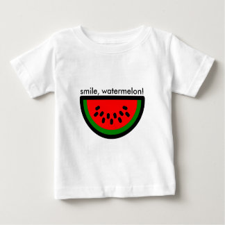 smile watermelon! It smiles as a watermelon crack Baby T-Shirt