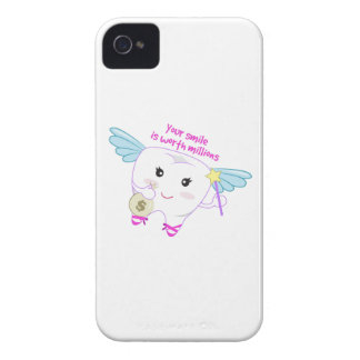 Smile Worth Millions iPhone 4 Cover