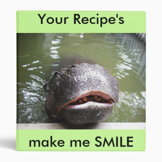 smile, Your Recipe's, make me SMILE Binder