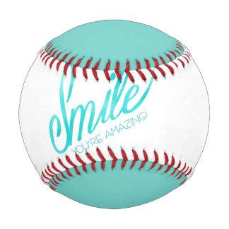 Smile You're Amazing Baseball