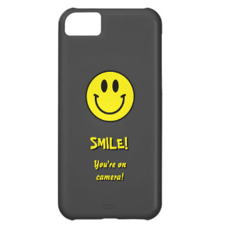 Smile! You're on camera! iPhone 5C Cover