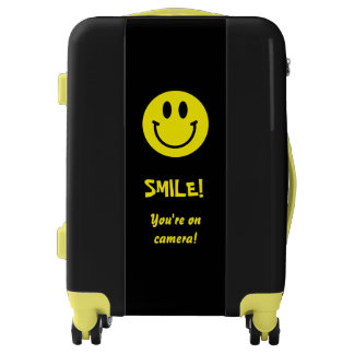 Smile! You're on Camera! Luggage