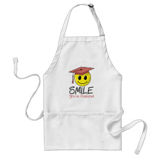 Smile! You've Graduated! Adult Apron
