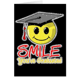 Smile You've Graduated Card