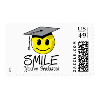 Smile You've Graduated Postage
