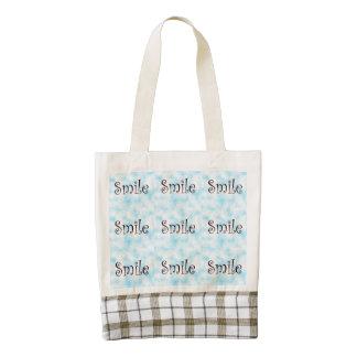 Smile-Zazzle HEART totebag Zazzle HEART Tote Bag