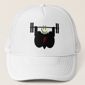 SMILEING WEIGHTLIFTER CAP