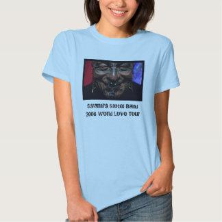 smileink, SWami's Motel Band2008 world Love Tour Tee Shirt