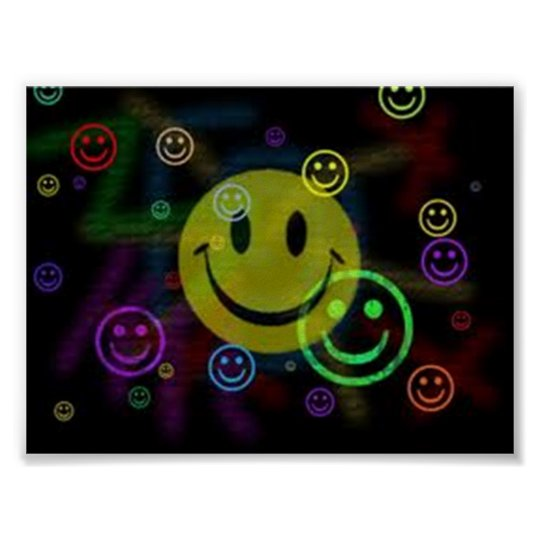 Smilely Face Value Poster Paper (Matte)