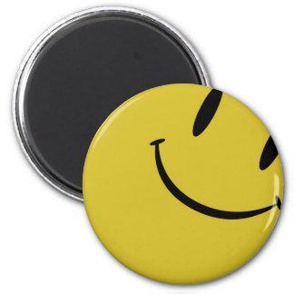 Smiles 2 Inch Round Magnet
