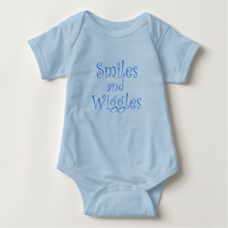 Smiles and Wiggles Baby Bodysuit
