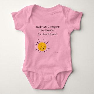 Smiles Are Contaigous! Baby Bodysuit