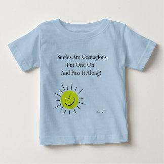 Smiles Are Contaigous! Baby T-Shirt