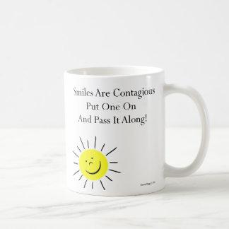 Smiles Are Contaigous! Coffee Mug
