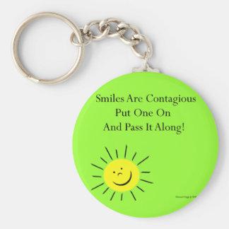 Smiles Are Contaigous! Keychain