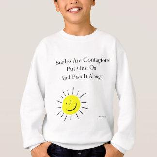 Smiles Are Contaigous! Sweatshirt